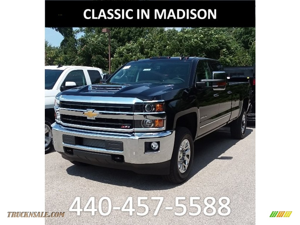 2019 Silverado 2500HD LT Crew Cab 4WD - Black / Jet Black photo #1
