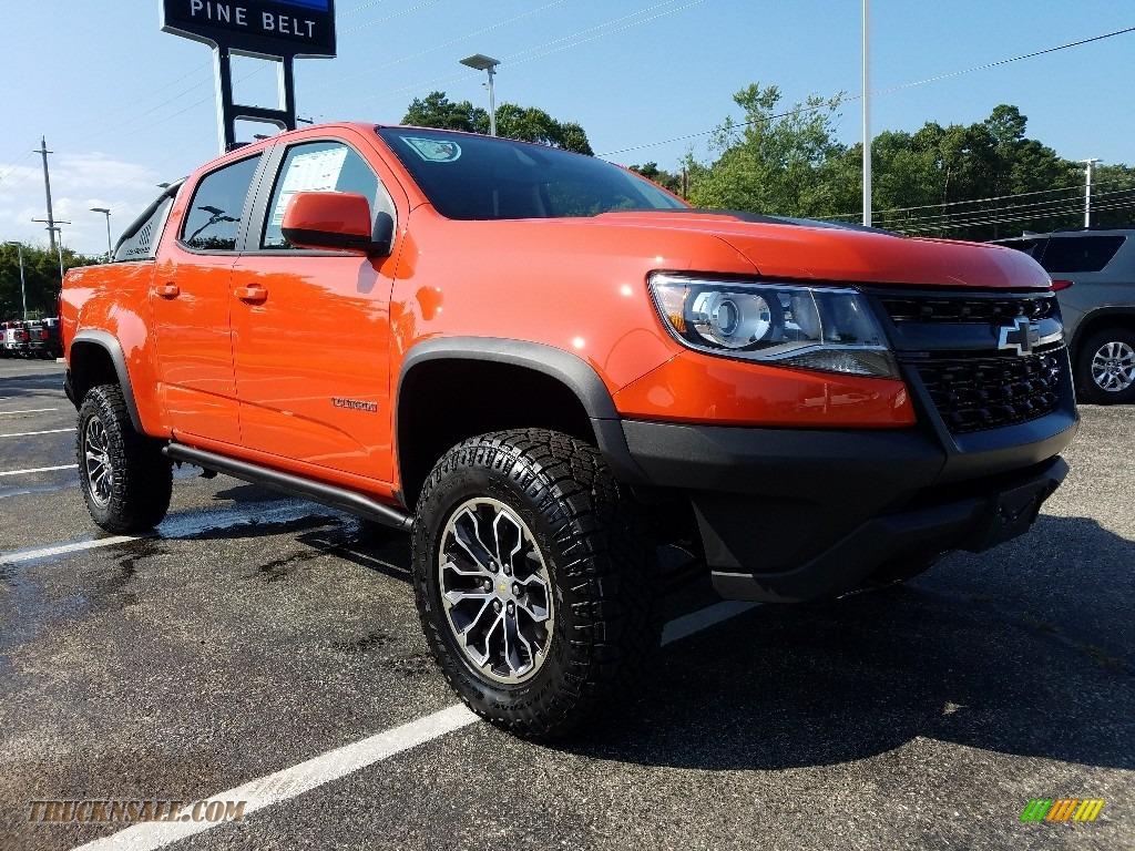 2019 Chevrolet Colorado Zr2 Crew Cab 4x4 In Crush Orange