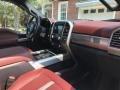Ford F250 Super Duty Platinum Crew Cab 4x4 White Platinum Metallic photo #4