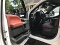 Ford F250 Super Duty Platinum Crew Cab 4x4 White Platinum Metallic photo #5