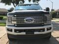 Ford F250 Super Duty Platinum Crew Cab 4x4 White Platinum Metallic photo #9