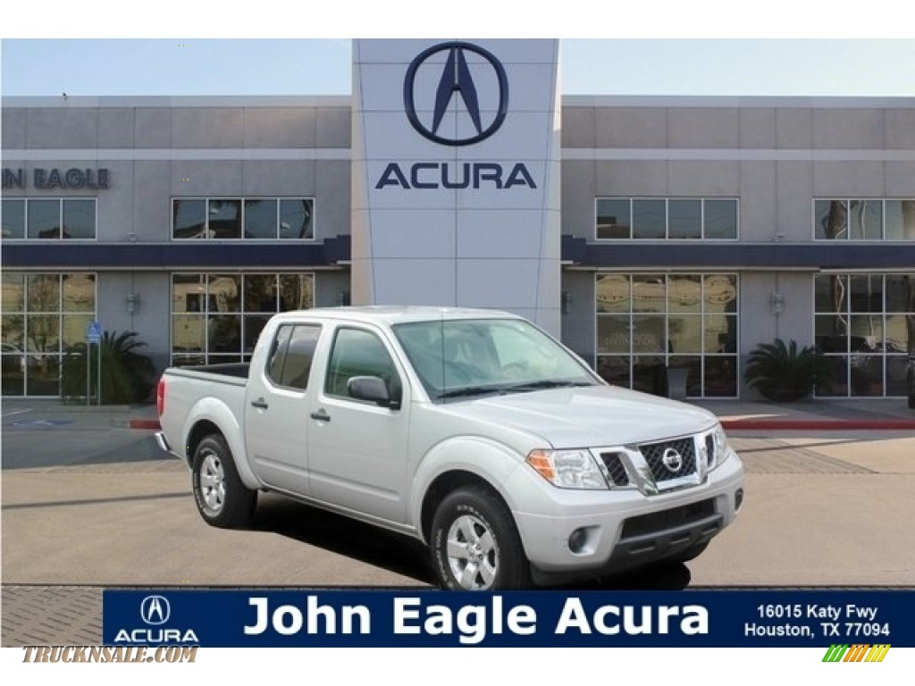 2012 Frontier SV Crew Cab - Brilliant Silver Metallic / Steel photo #1