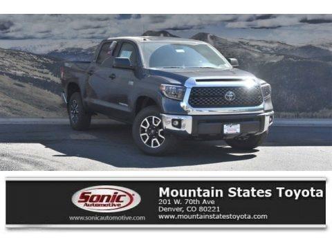 Magnetic Gray Metallic 2019 Toyota Tundra SR5 CrewMax 4x4