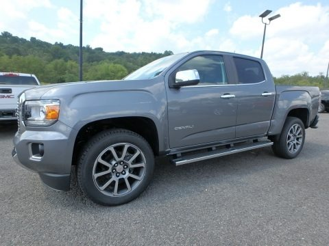 Satin Steel Metallic 2019 GMC Canyon Denali Crew Cab 4WD