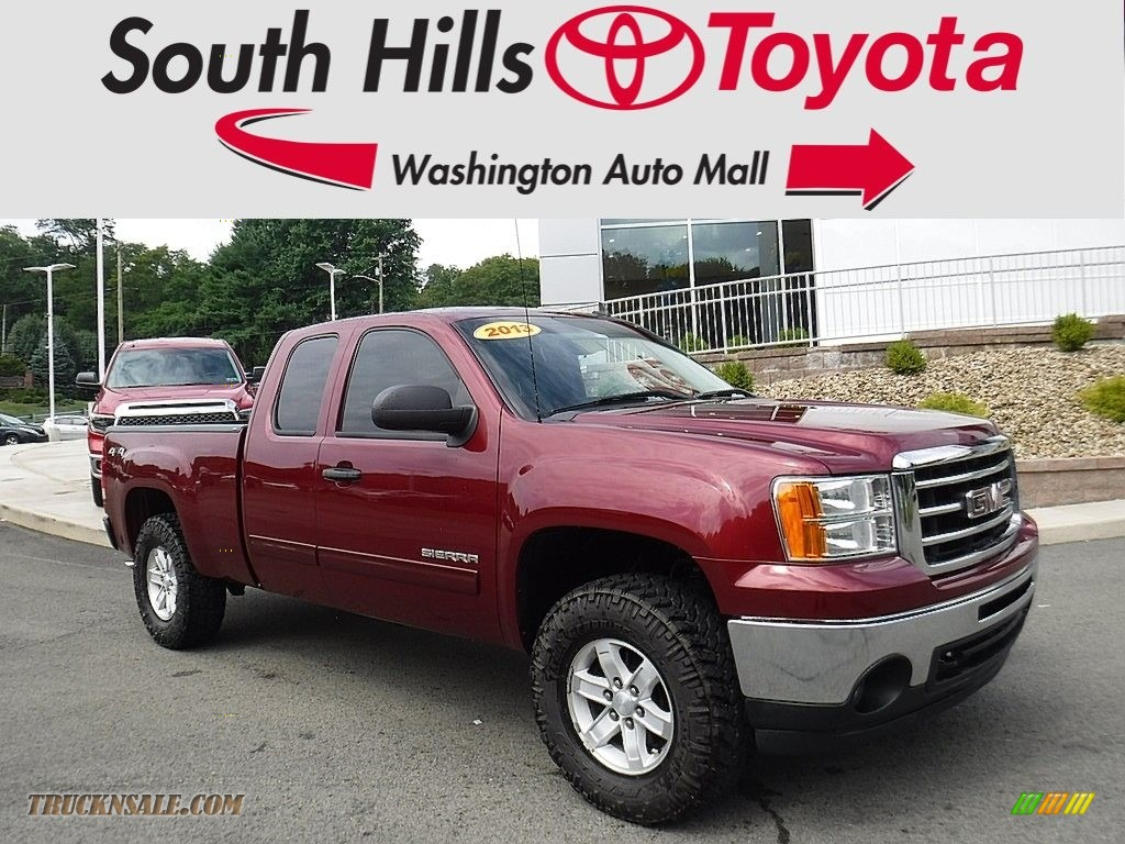 2013 gmc sierra 1500 sle extended cab 4x4 in sonoma red metallic