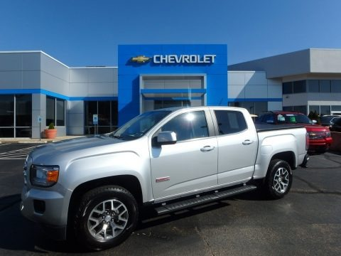 Quicksilver Metallic 2016 GMC Canyon SLE Crew Cab 4x4
