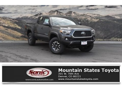 Magnetic Gray Metallic 2018 Toyota Tacoma SR Double Cab 4x4