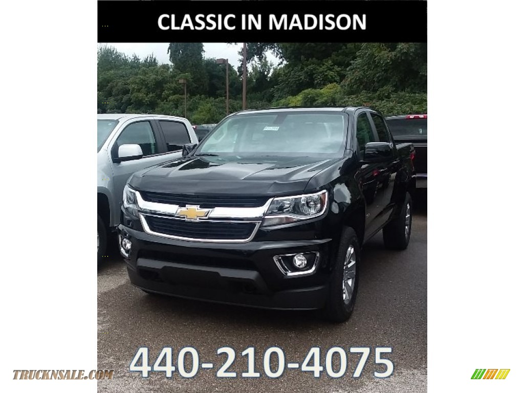 2019 Colorado LT Crew Cab 4x4 - Black / Jet Black photo #1