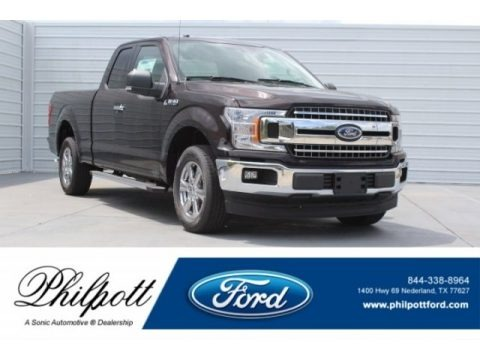 Magma Red 2018 Ford F150 XLT SuperCab