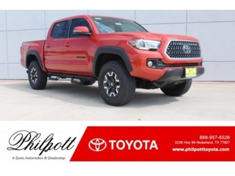Inferno 2018 Toyota Tacoma TRD Off Road Double Cab 4x4