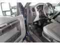 Ford F250 Super Duty XL Crew Cab 4x4 Blue Jeans Metallic photo #31