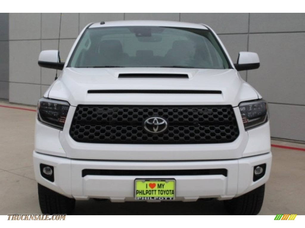2019 Tundra TRD Sport CrewMax 4x4 - Super White / Graphite photo #2