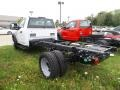 Ford F550 Super Duty XL Regular Cab Chassis White photo #3