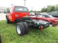 Ford F550 Super Duty XL Regular Cab 4x4 Chassis Race Red photo #3