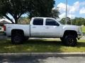 Chevrolet Silverado 1500 LT Crew Cab 4x4 Silver Ice Metallic photo #6