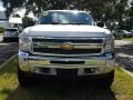 Chevrolet Silverado 1500 LT Crew Cab 4x4 Silver Ice Metallic photo #8
