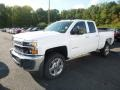 Chevrolet Silverado 2500HD Work Truck Double Cab 4WD Summit White photo #1
