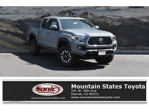 Cement 2018 Toyota Tacoma SR Double Cab 4x4
