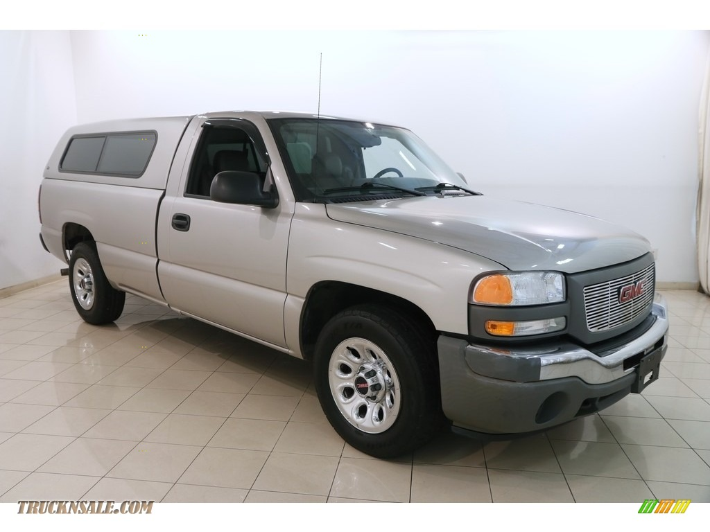 2006 Sierra 1500 Regular Cab - Silver Birch Metallic / Dark Pewter photo #1