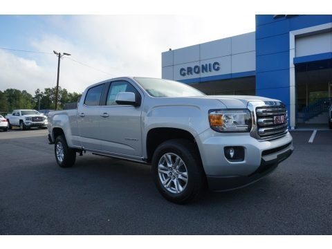 Quicksilver Metallic 2019 GMC Canyon SLE Crew Cab