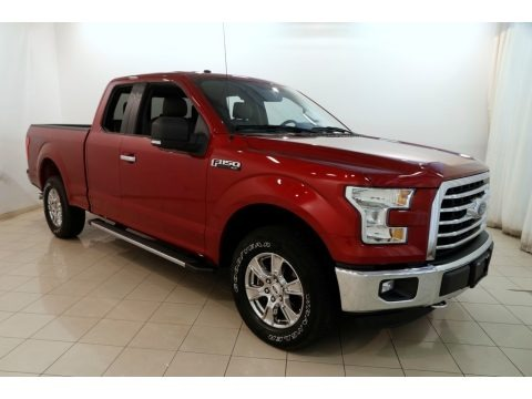 Ruby Red Metallic 2015 Ford F150 XLT SuperCab 4x4