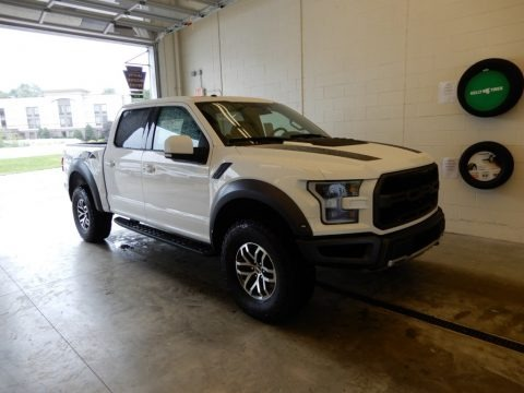 Oxford White 2018 Ford F150 SVT Raptor SuperCrew 4x4