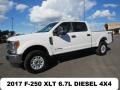 Ford F250 Super Duty XLT Crew Cab 4x4 Oxford White photo #2