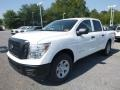 Nissan Titan S Crew Cab 4x4 Glacier White photo #7