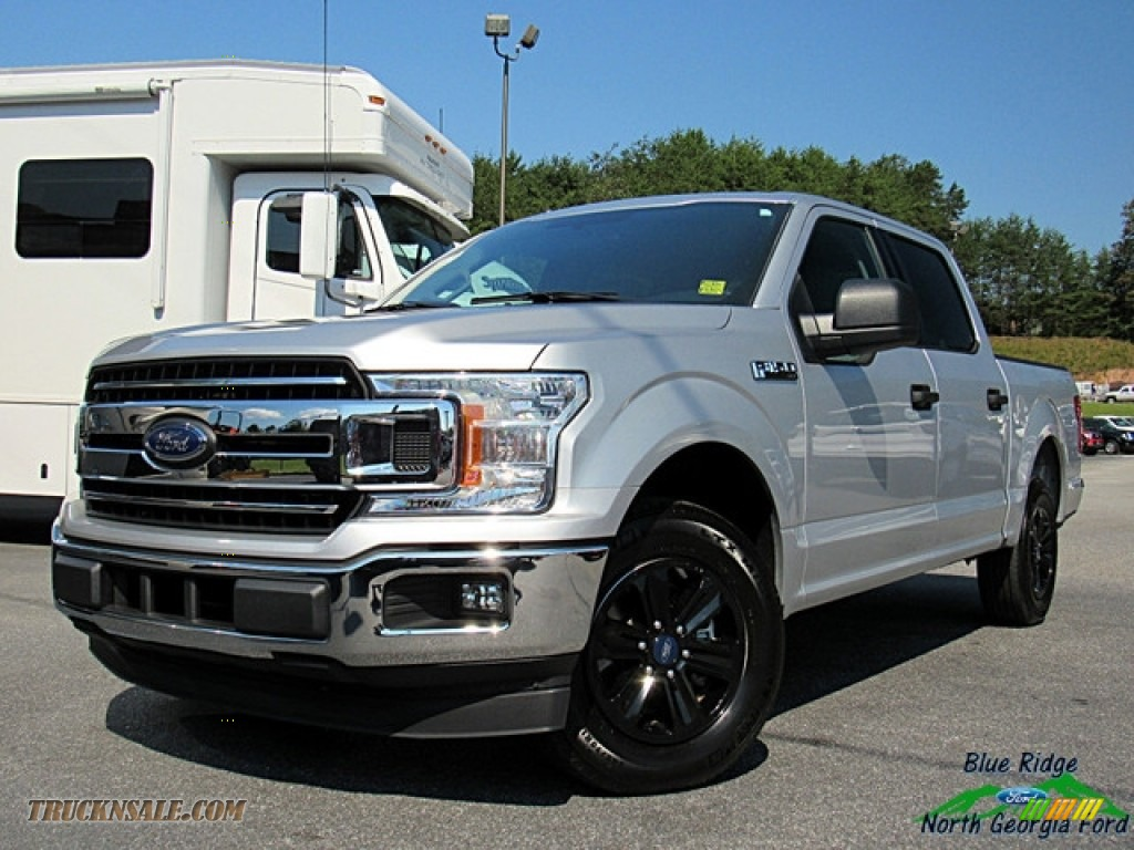 Ingot Silver / Earth Gray Ford F150 XLT SuperCrew