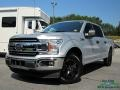 Ford F150 XLT SuperCrew Ingot Silver photo #1