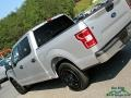 Ford F150 XLT SuperCrew Ingot Silver photo #34