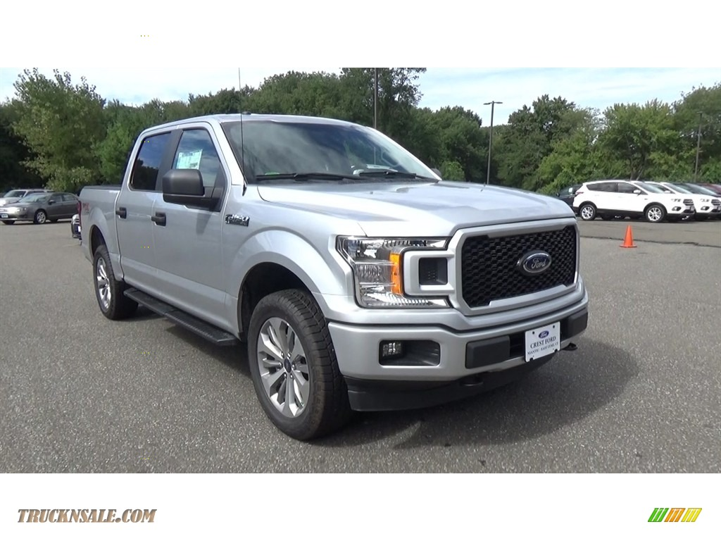 2018 F150 STX SuperCrew 4x4 - Ingot Silver / Earth Gray photo #1