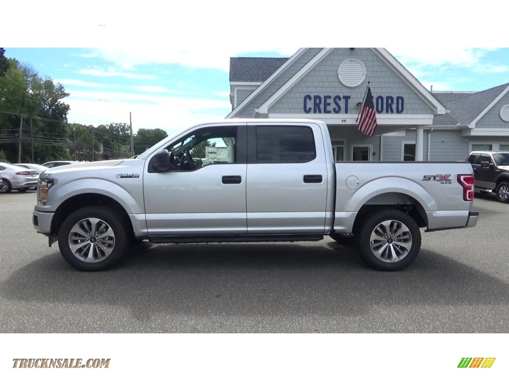 2018 F150 STX SuperCrew 4x4 - Ingot Silver / Earth Gray photo #4