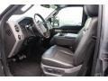 Ford F250 Super Duty Lariat Crew Cab 4x4 Sterling Grey Metallic photo #15