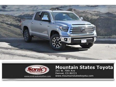 Silver Sky Metallic 2019 Toyota Tundra Limited CrewMax 4x4