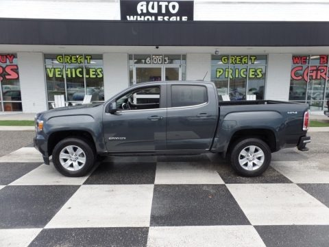 Cyber Gray Metallic 2016 GMC Canyon SLE Crew Cab 4x4