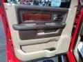 Dodge Ram 3500 HD Laramie Crew Cab 4x4 Dually Flame Red photo #10