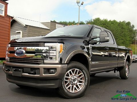 Agate Black 2019 Ford F250 Super Duty King Ranch Crew Cab 4x4