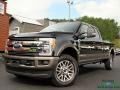Ford F250 Super Duty King Ranch Crew Cab 4x4 Agate Black photo #1