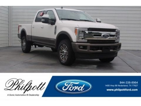 Oxford White 2019 Ford F250 Super Duty King Ranch Crew Cab 4x4