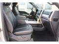 Ford F250 Super Duty Platinum Crew Cab 4x4 Ingot Silver photo #33