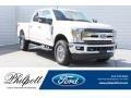 Ford F250 Super Duty Lariat Crew Cab 4x4 Oxford White photo #1