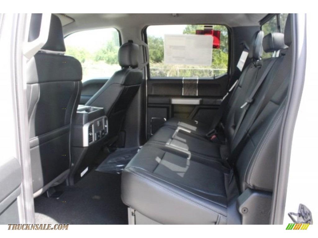 2019 F250 Super Duty Lariat Crew Cab 4x4 - Oxford White / Black photo #22
