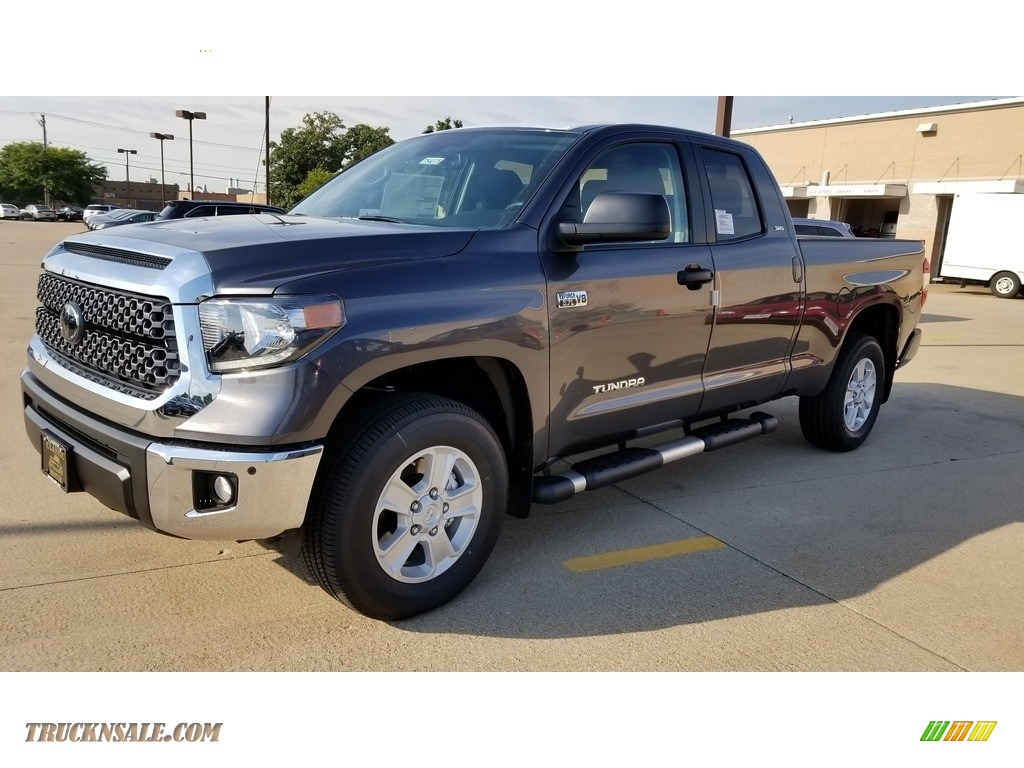 2019 Tundra SR5 Double Cab 4x4 - Magnetic Gray Metallic / Graphite photo #1