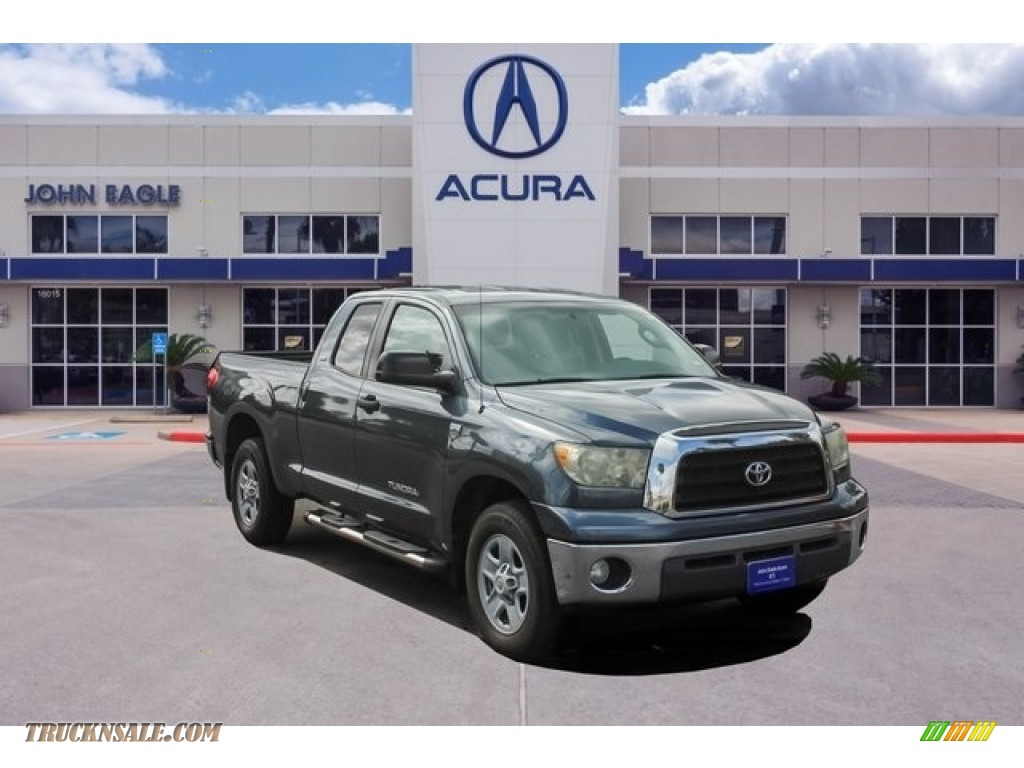 2008 Tundra SR5 Double Cab - Slate Gray Metallic / Graphite Gray photo #1