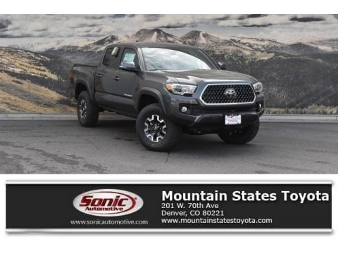 Magnetic Gray Metallic 2019 Toyota Tacoma TRD Off-Road Double Cab 4x4