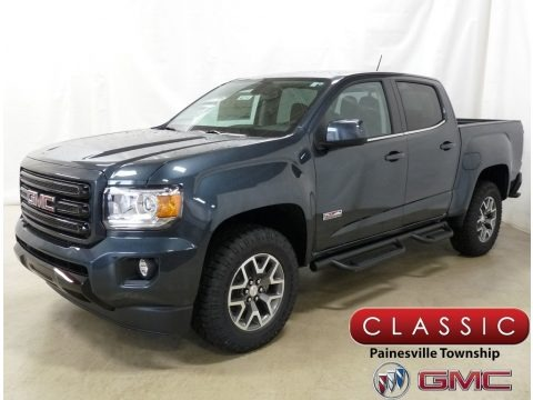 Dark Sky Metallic 2019 GMC Canyon All Terrain Crew Cab 4WD