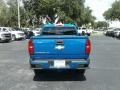 Chevrolet Colorado Z71 Crew Cab 4x4 Kinetic Blue Metallic photo #4