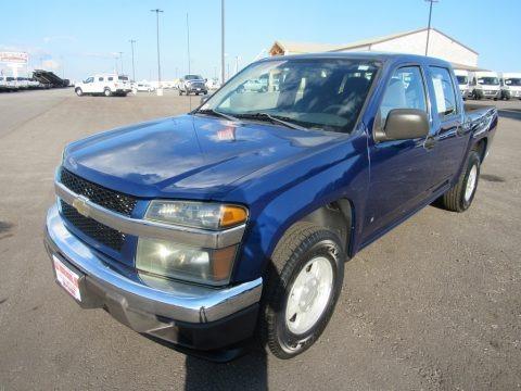 Superior Blue Metallic 2006 Chevrolet Colorado LT Crew Cab
