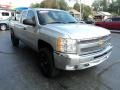 Chevrolet Silverado 1500 LT Extended Cab 4x4 Silver Ice Metallic photo #5